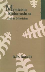 Cover of: Mysticism in Maharashtra