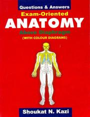Questions and Answers Exam Oriented Anatomy (December 1