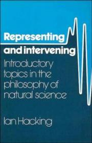 Cover of: Representing and intervening