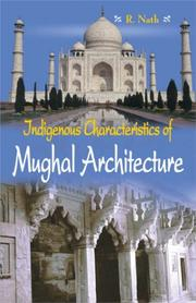 Cover of: Indegenous Mughal Architecture
