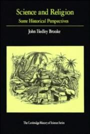 Cover of: Science and religion | John Hedley Brooke