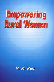 Cover of: Empowering Rural Women