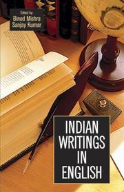 Cover of: Indian Writings in English | Binod Mishra