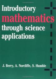 Cover of: Introductory mathematics through science applications