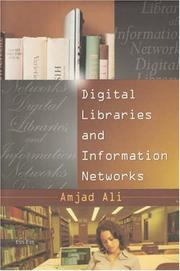 Cover of: Digital Libraries and Information Networks