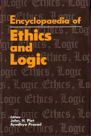 Cover of: Encyclopaedia of Ethics and Logic
