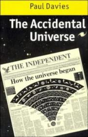 Cover of: The accidental universe