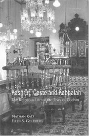 Cover of: Kashrut, caste, and Kabbalah