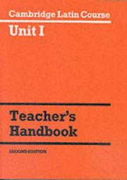 Cover of: Cambridge Latin Course Unit 1 Teacher