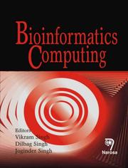Cover of: Bioinformatics Computing | V. Singh