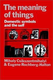 Cover of: The meaning of things