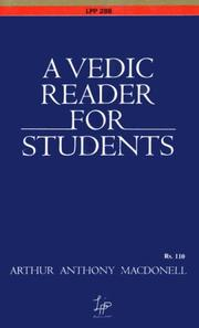 Vedic Reader for Students by Arthur Anthony MacDonell