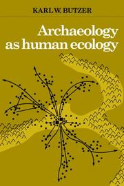 Cover of: Archaeology as human ecology
