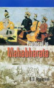 Cover of: Protocol in Mahabharata