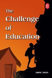 Cover of: The Challenge of Education