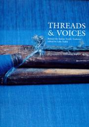 Cover of: Threads & Voices | Laila Tyabji