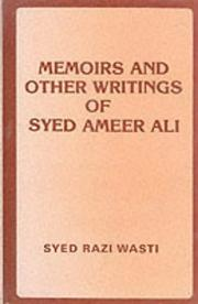 Cover of: Memoirs and Other Writings