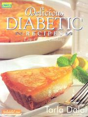Cover of: Delicious Diabetic Recipies