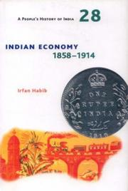 Cover of: Indian Economy, 1858-1914