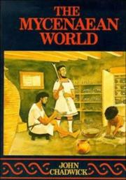 Cover of: The Mycenaean world