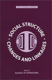 Cover of: Social Structure