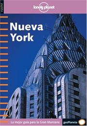 Cover of: Lonely Planet Nueva York (Spanish) 1