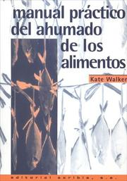 Cover of: Manual Practico del Ahumado de Los Alimentos