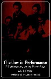 Cover of: Chekhov in performance by