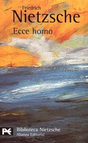 Ecce Homo 1998 Edition Open Library