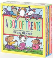 Cover of: A Box of Treats: Five Little Picture Books about Lilly and Her Friends