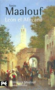 Cover of: Leon El Africano