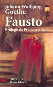 Cover of: Fausto / Faust