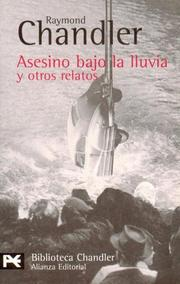 Cover of: Asesino bajo la lluvia y otros relatos/ Killer in the Rain and other Tales (Biblioteca De Autor)