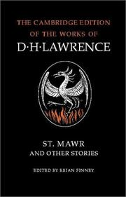 Cover of: St. Mawr and other stories