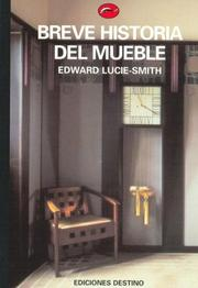 Cover of: Breve Historia del Mueble