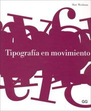 Cover of: Tipografia En Movimiento