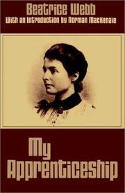 My apprenticeship by Beatrice Potter Webb