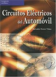 Cover of: Circuitos Electricos del Automovil by Salvador Ferrer Vinas