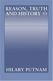 Cover of: Reason, truth, and history