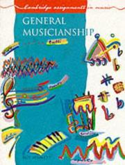 Cover of: General musicianship