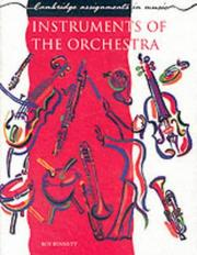 Cover of: Instruments of the Orchestra (Cambridge Assignments in Music)