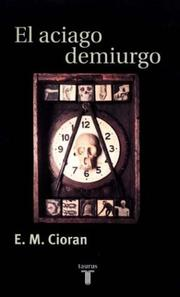 Cover of: El Aciago Demiurgo