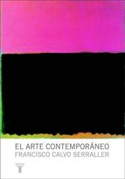 Cover of: El Arte Contemporaneo