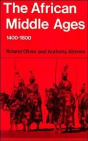Cover of: The African middle ages, 1400-1800