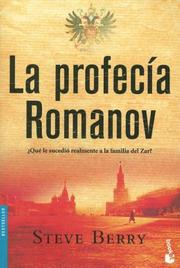 Cover of: La Profecia Romanov/ the Romano Prophecy (Bestseller (Booket Numbered))