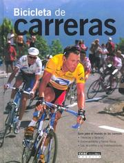Cover of: Bicicletas de Carreras by Steve Thomas Rooney