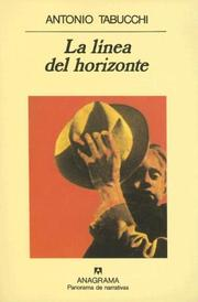 Cover of: La Linea del Horizonte