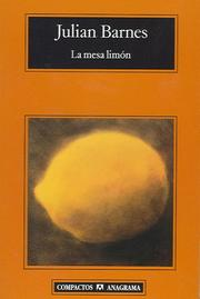 Cover of: La mesa limon