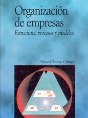 Cover of: Organizacion De Empresas
