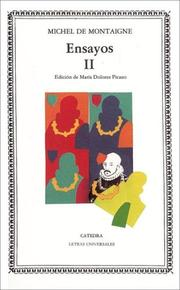 Cover of: Ensayos, II